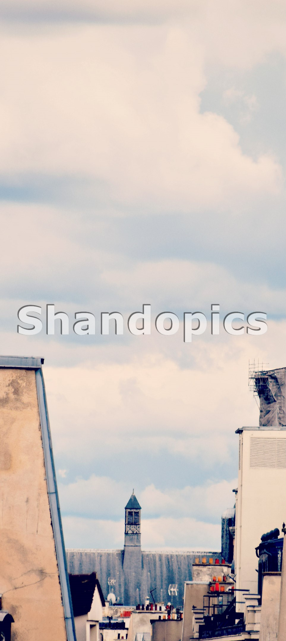 Roofs and Sky in Paris 2015-2